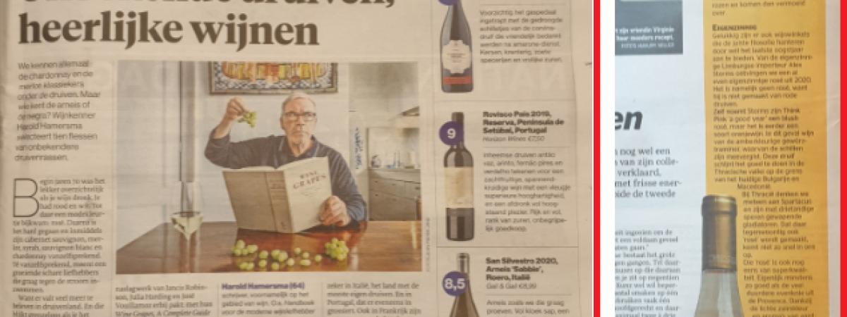 Publicaties Algemeen Dagblad en Telegraaf 17-04-2021