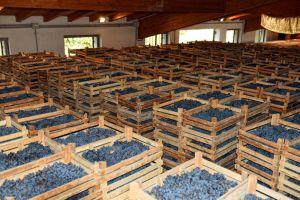 De 'methode appasimento' wordt ook toegepast in Noor-Italie voor de Ripasso en Amarone