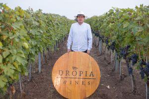 Eigenaar wijnmaker George - tevens vineyard manager-