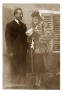Vader Egidio en moeder Angela Bosio