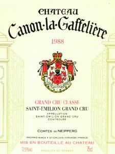 Canon La Gaffeliére