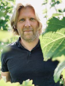 Stan Beurskens, directeur van de wijngaard St. Martinus.