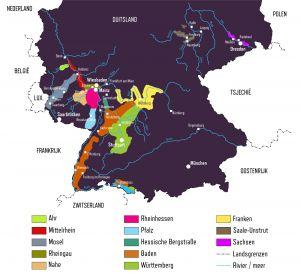 Duitse wijngebieden