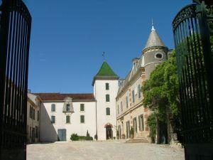 entree Château  de la Provenquière
