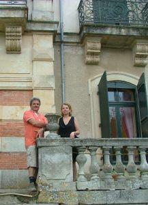 Birgitte en Claude