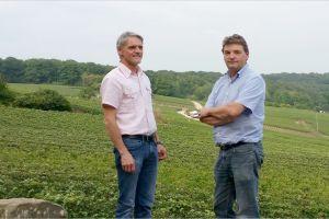 Eric en Emmenual Hervé werden onderscheiden met goud in Parijs met hun selectie Bourgogne wijnen.